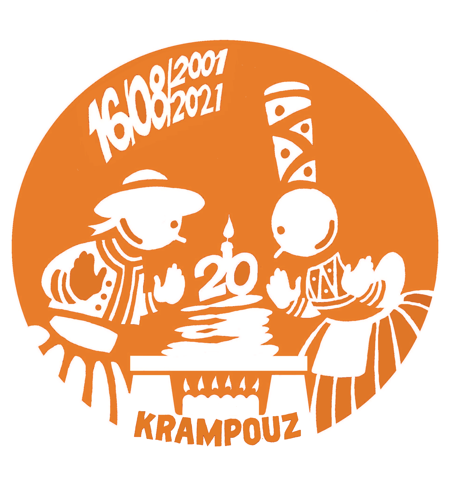 Visuel souvenirs des 20 ans de Krampouz