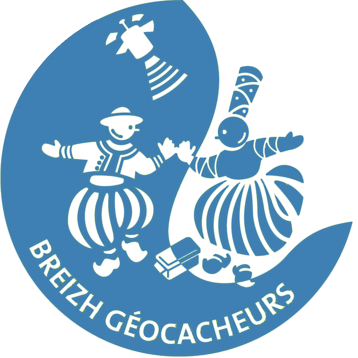 Logo des Breizh Geocacheurs aux couleurs de Facebook